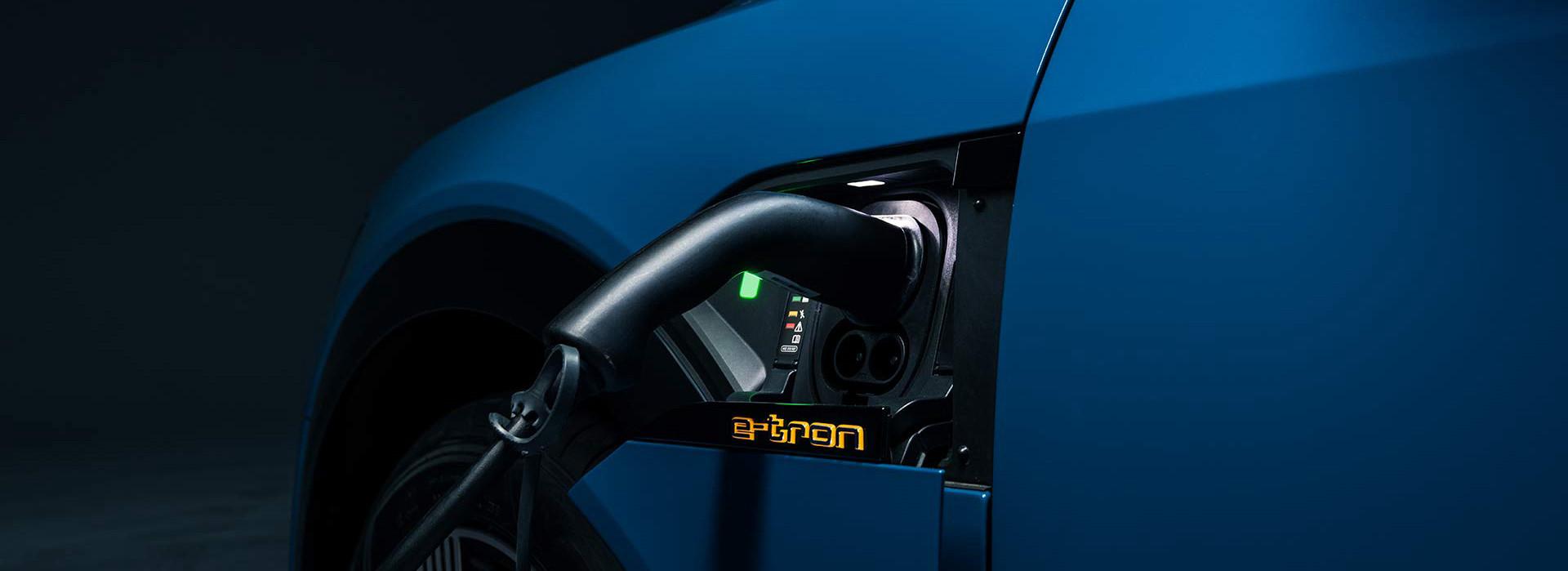 2019 Audi e-tron Charging