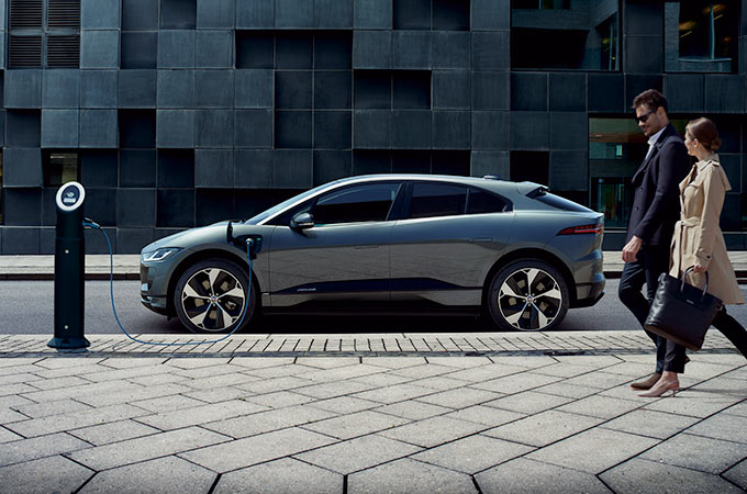 Jaguar I-PACE Charging Station