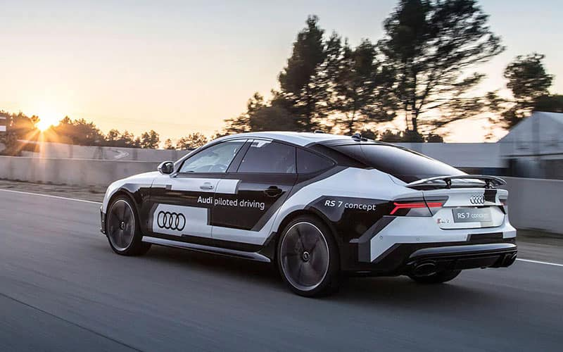 Audi RS 7 Self Driving Concept