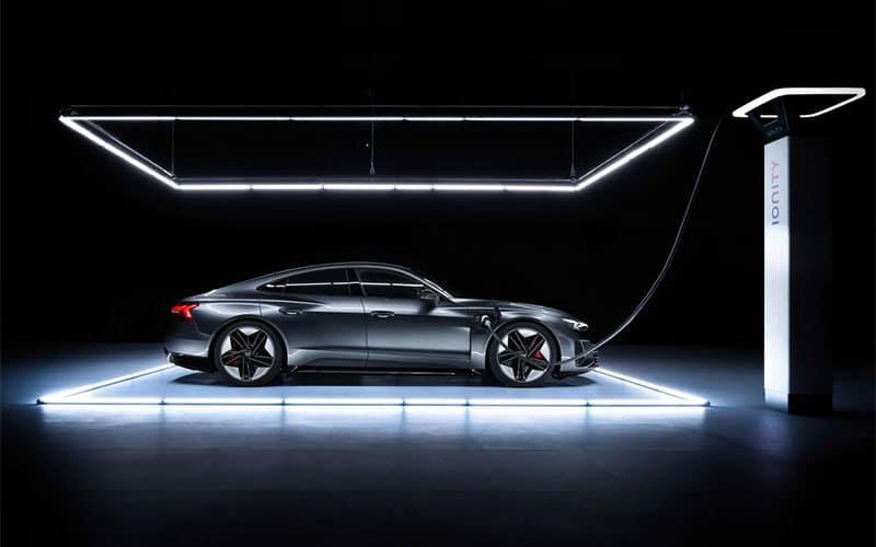 Audi e-tron GT Charging