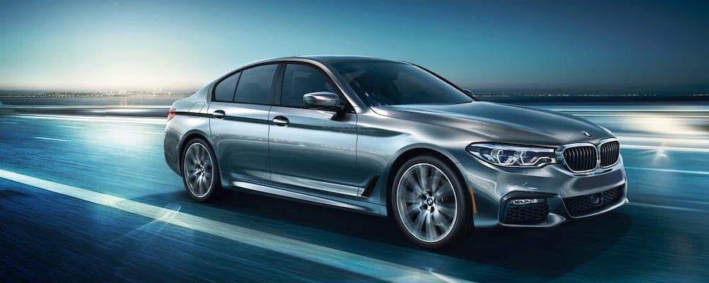 2019 BMW 5-Series Driving