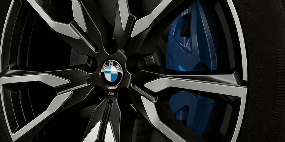 2019 BMW X7 Wheel Closeup