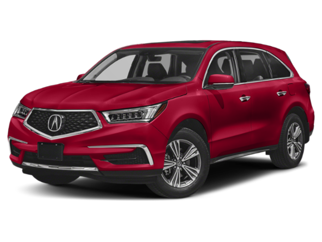 2019 Red Acura MDX