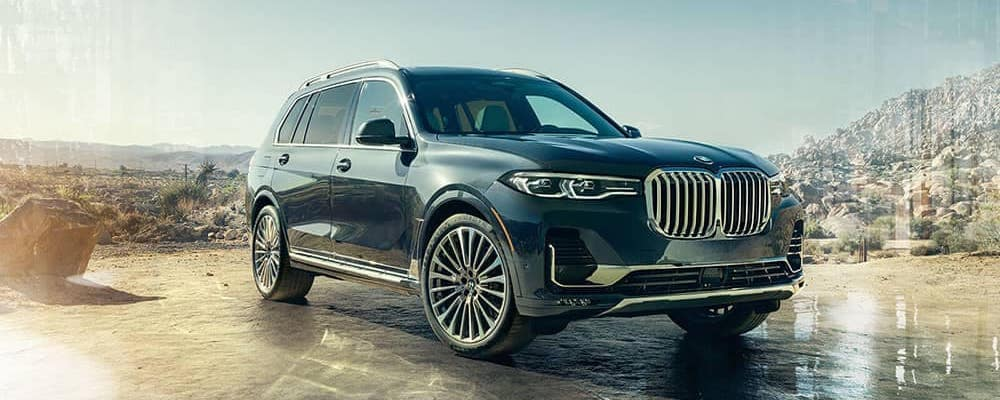 2020 BMW X7 Parked in Desert