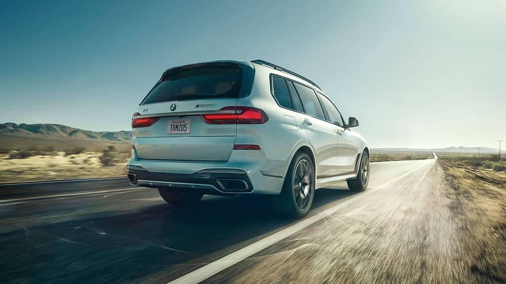 2020 BMW X7 Rear