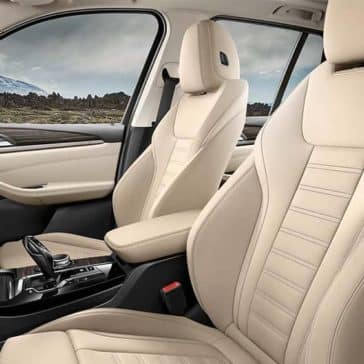 2020 BMW X3 Seating