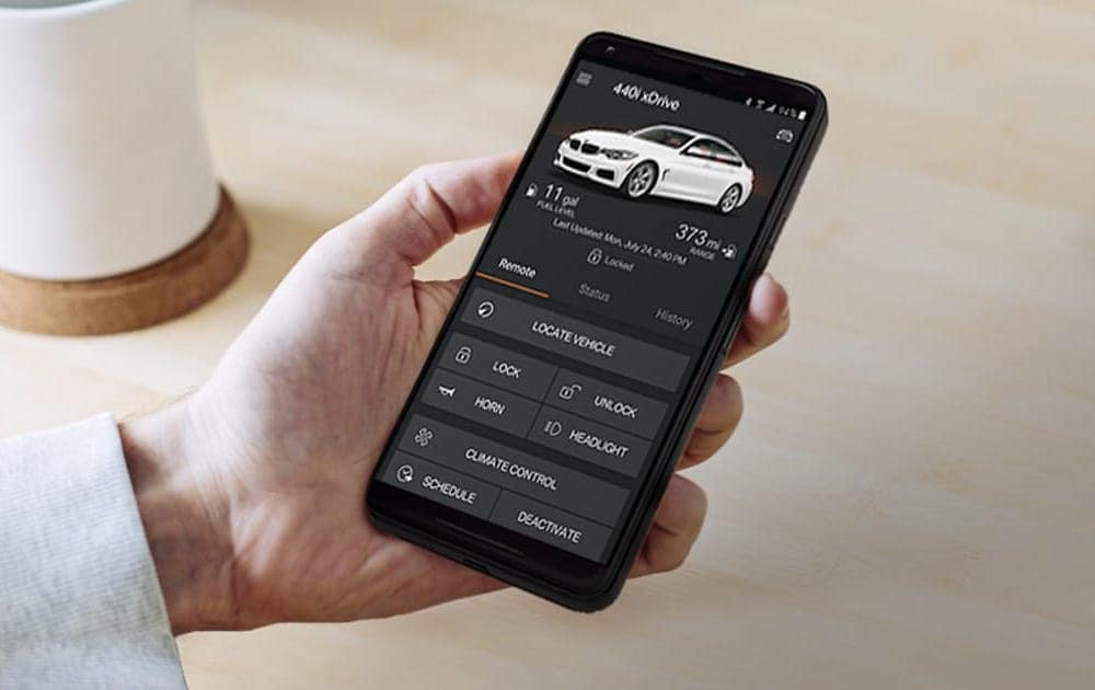 BMW ConnectedDrive App