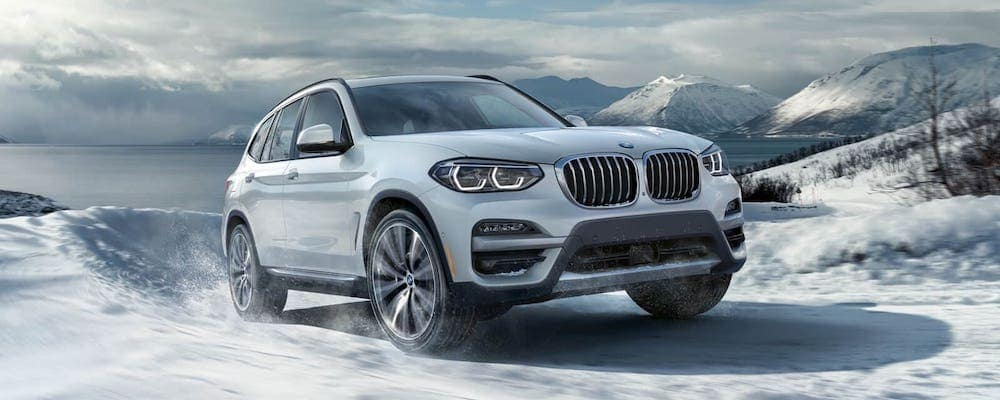 2020 BMW X3 in Snow