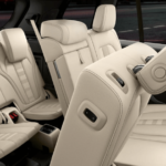 2020 BMW X5 seating banner image with white upholstery