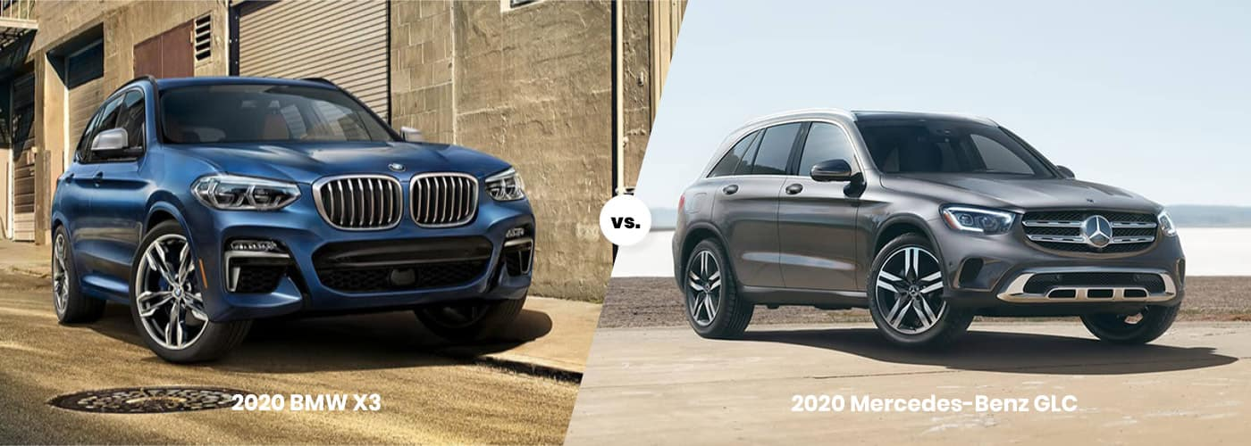 2020 BMW X3 vs. 2020 Mercedes-Benz GLC