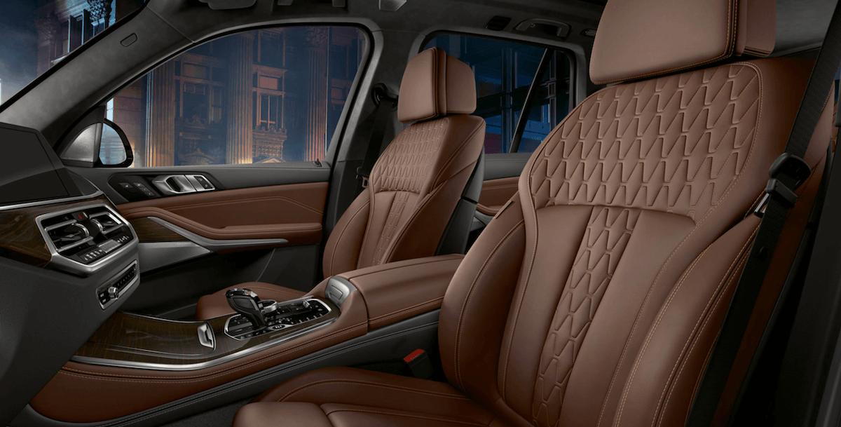 2021 BMW X5 Driver & Passenger Banner