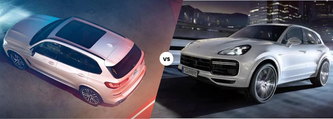2021 BMW X5 vs. 2021 Porsche Cayenne