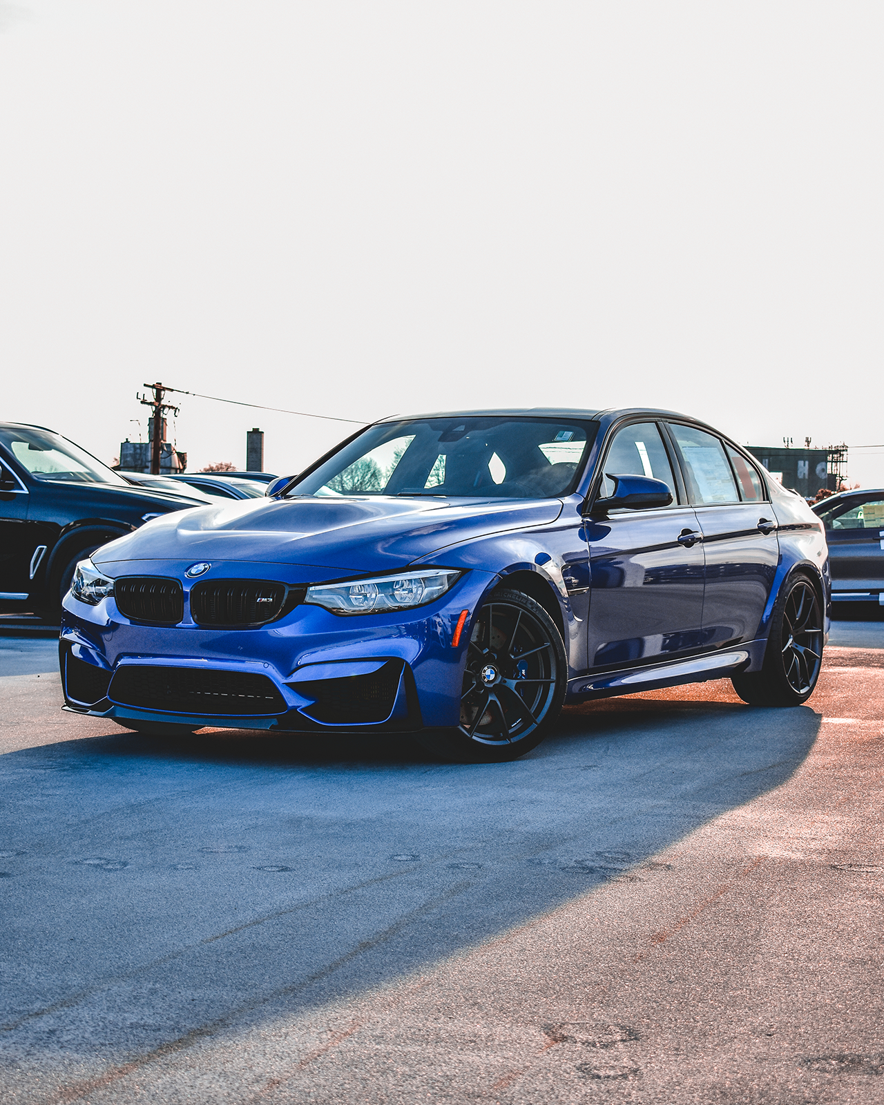Bmw M3 Cs: 203 Customs Testing