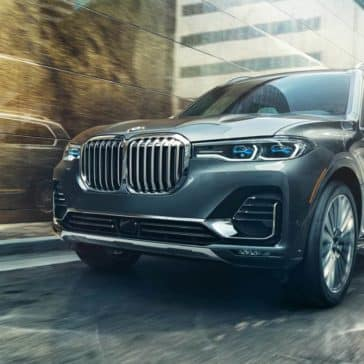 2019 BMW X7 beautiful paint finish