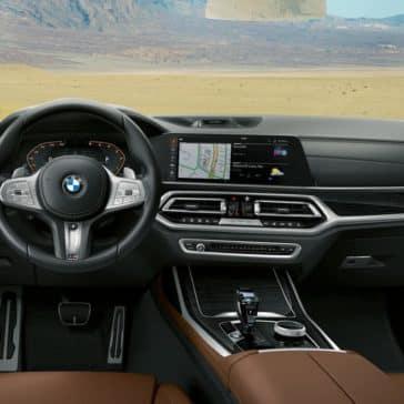 2019 BMW X7 central information display