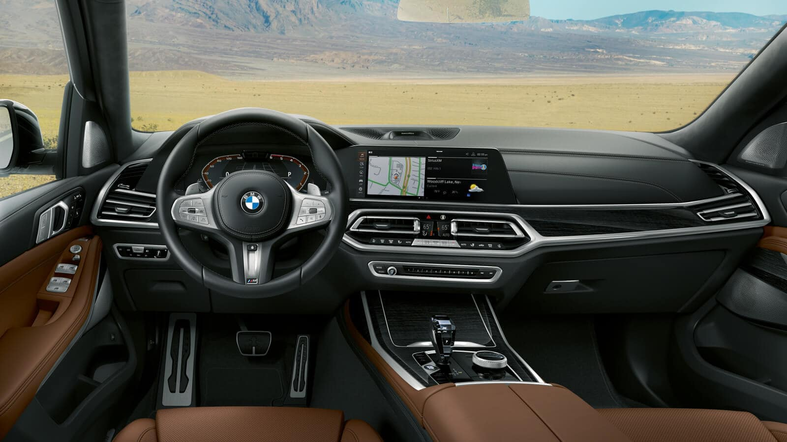 2019 BMW X7 central information display