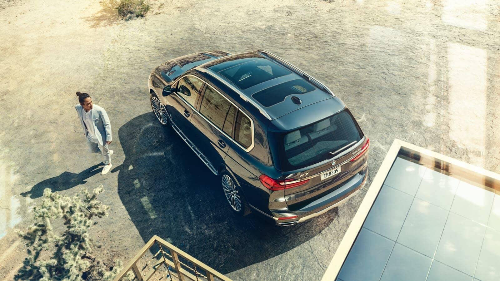2019 BMW X7 panoramic moonroof