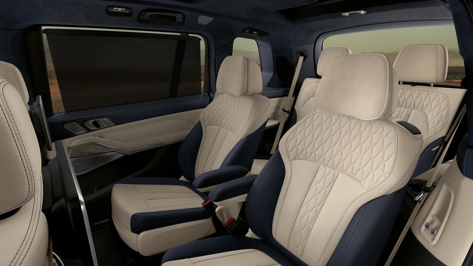 2019 BMW X7 seven seat configuration