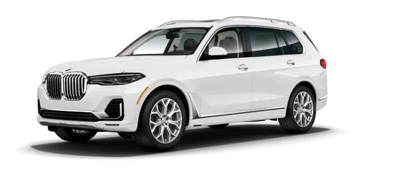 White 2019 BMW X7 xDrive40i