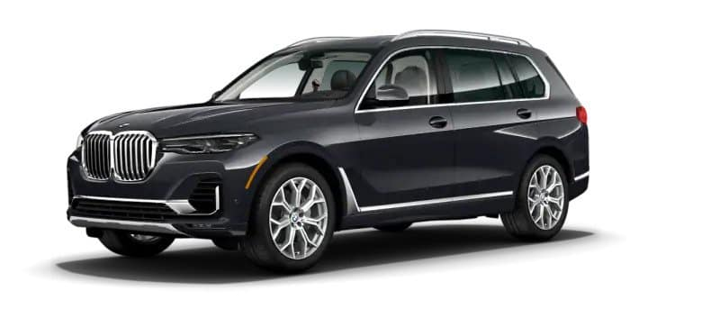 Grey Metallic 2019 BMW X7 xDrive50i