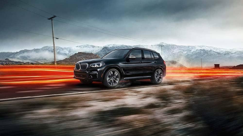 2020 BMW X3 Driving
