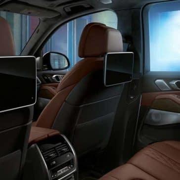 2020 BMW X5 Rear Entertainment