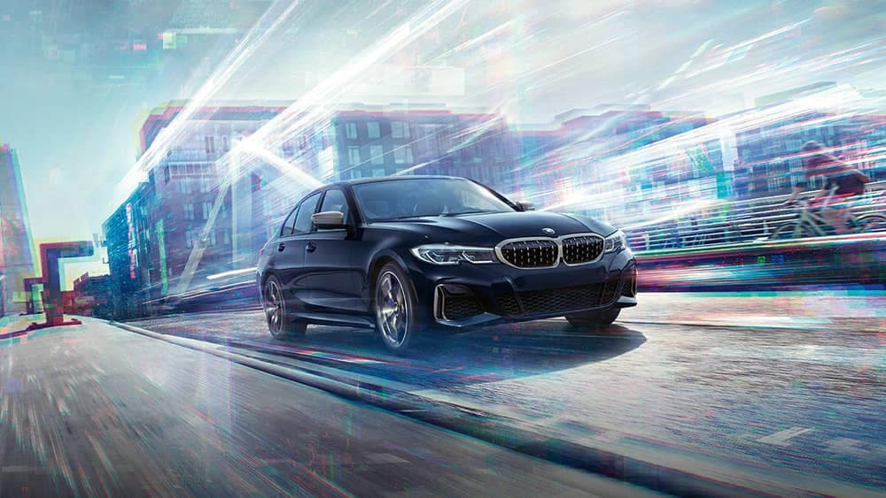 2020 BMW 3 Series Driving