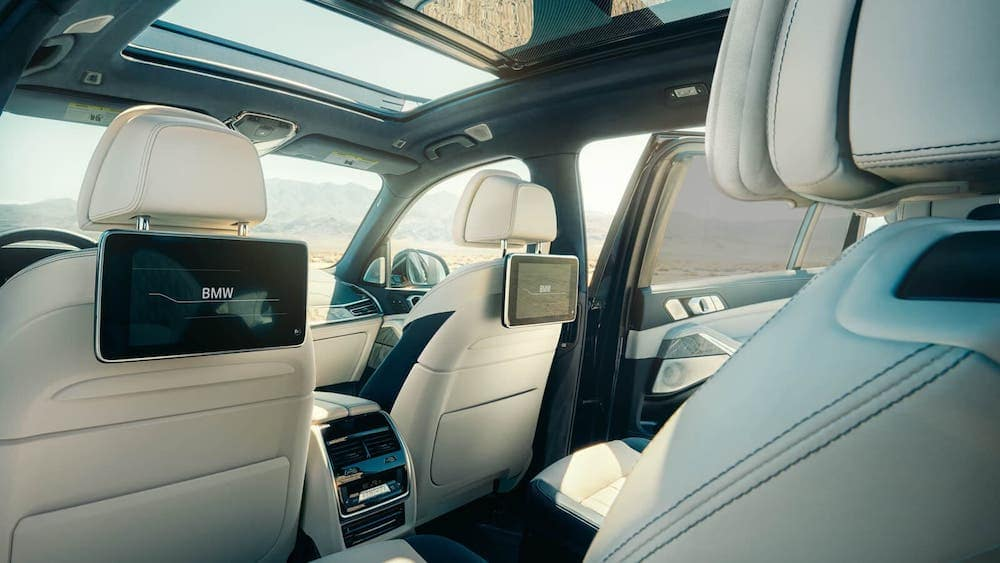 2020 BMW X7 Rear Seats Interior