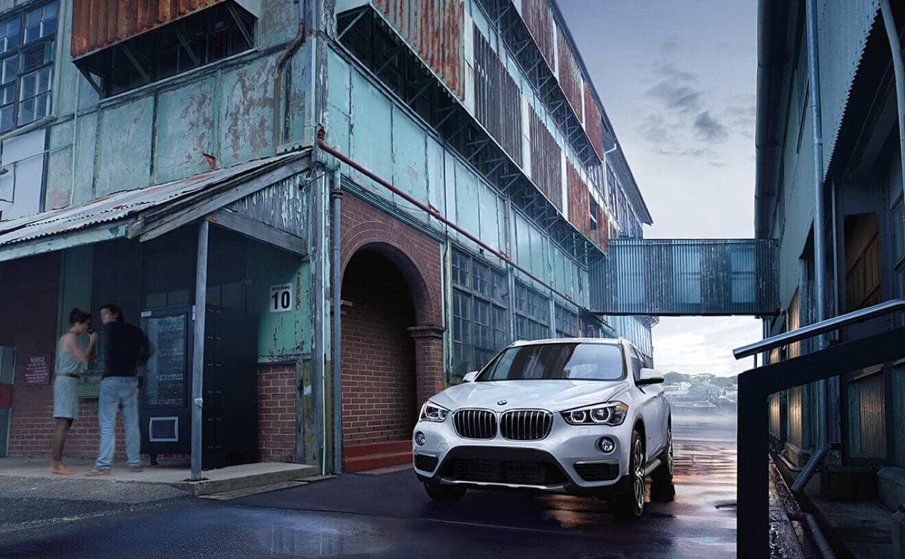 2018 BMW X1 Driving