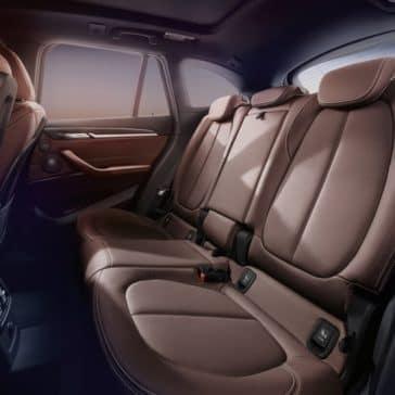 2018 BMW X1 Interior Rear Seating