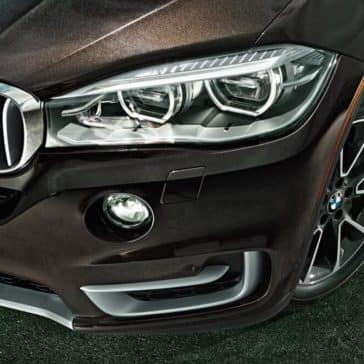 2018 BMW X5 Close-up of Front End