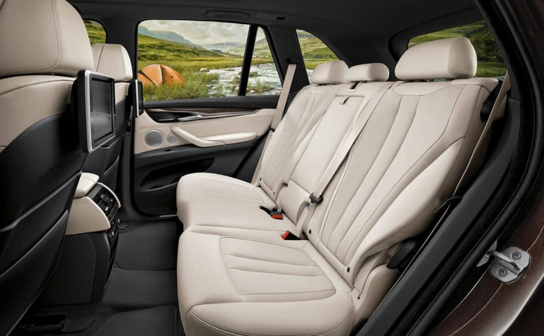 2018 BMW X5 Rear Seat