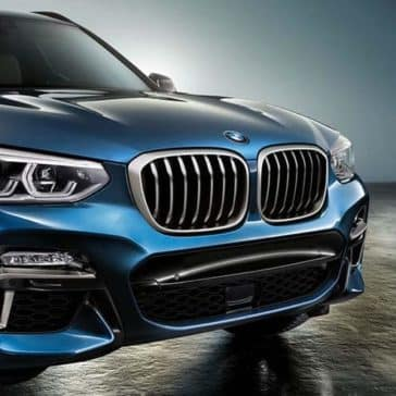 2019 BMW X3 Close-up of Front End