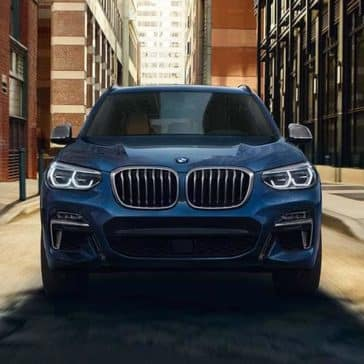 2019 BMW X3 Front End View