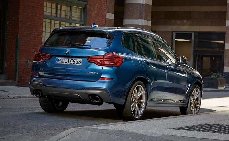 2019 BMW X3 Parked on Side of Street