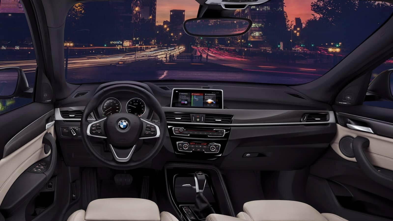 2019-BMW-X1-central-information-display