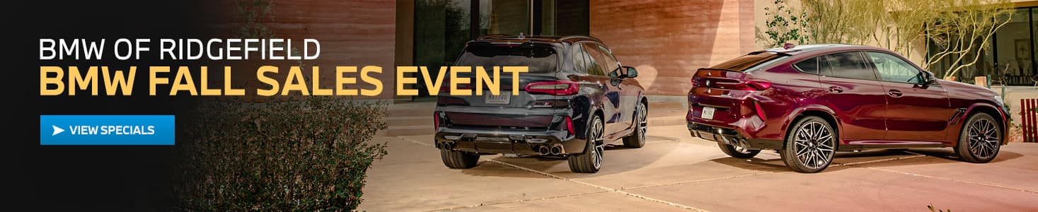 BMW Fall Sales Event