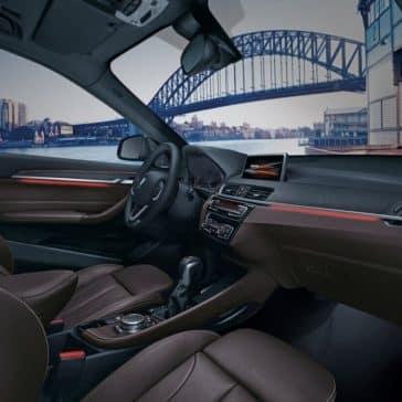 2018 BMW X1 Cabin