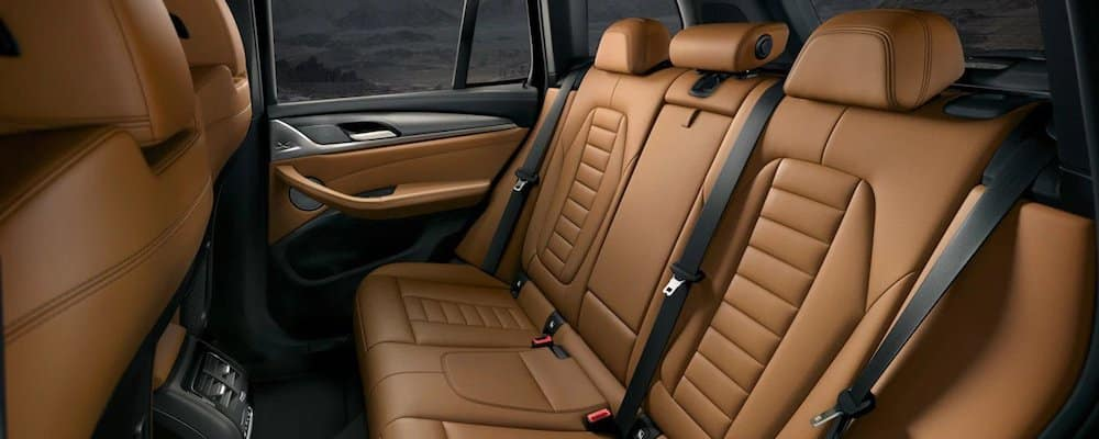 2019 x3 rear interior