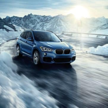 2019 BMW X1 all-road traction