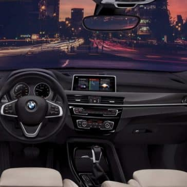 2019 BMW X1 central information display