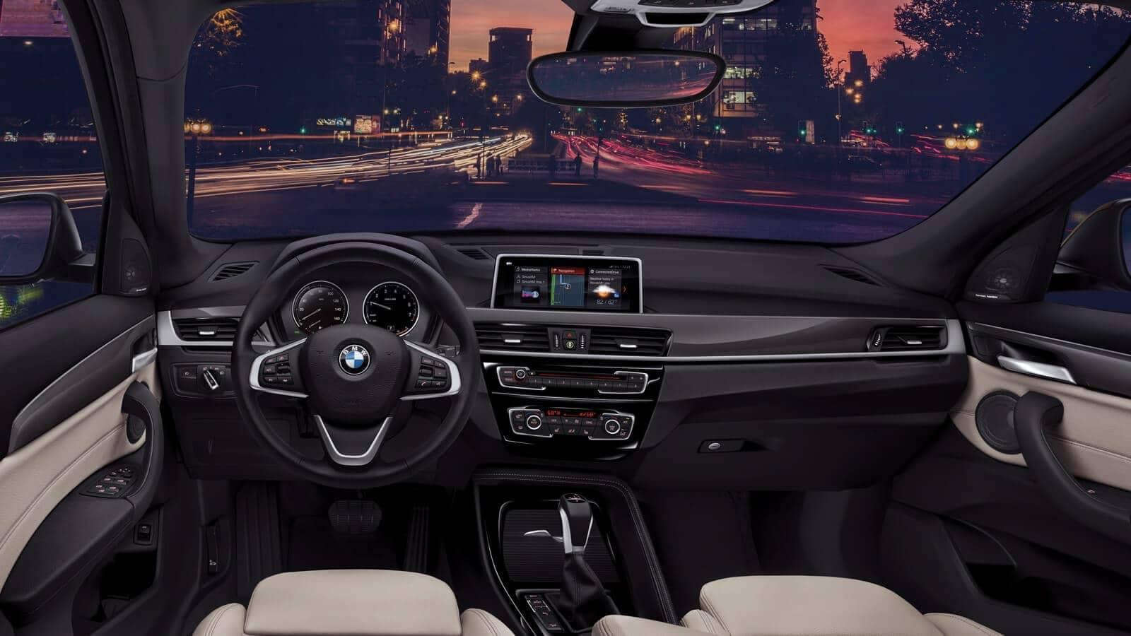 2019 BMW X1 central information display