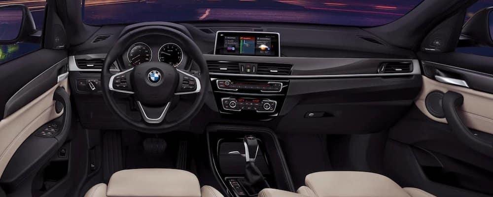 2019 x1 front interior