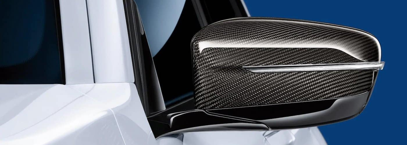 carbon fiber side mirror on bmw