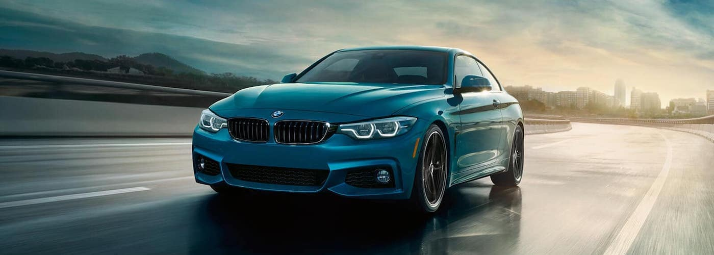 2020 BMW 4 Series on Highway