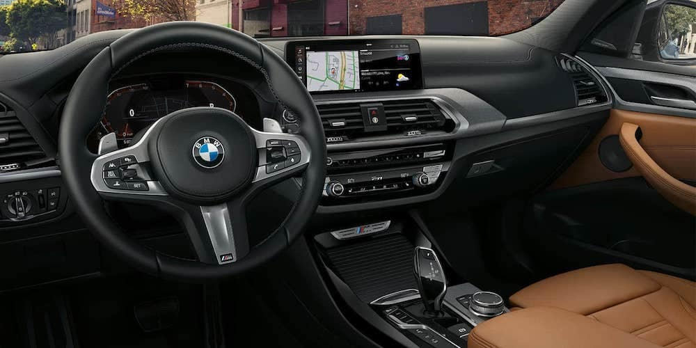 2019 BMW X3 Front Interior and Dash