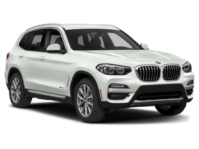 White 2019 BMW X3