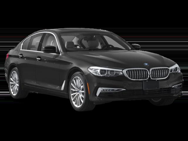 Black 2020 BMW 5 Series