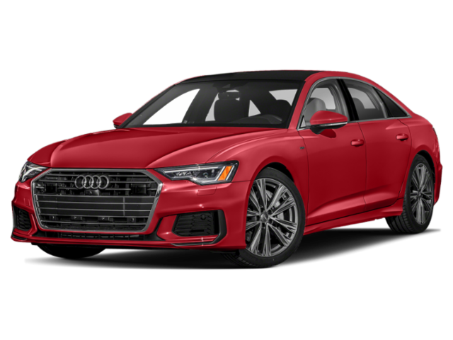 Red 2019 Audi A6