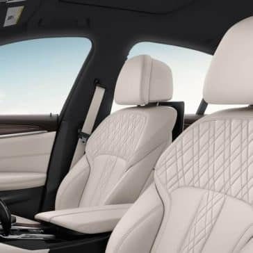 2020 BMW 5 Series Seating
